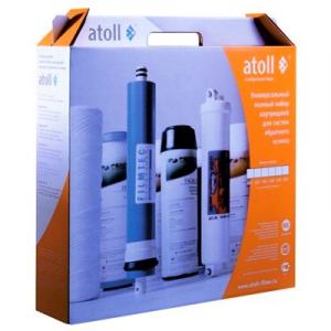 Полный набор картриджей Atoll 106m
