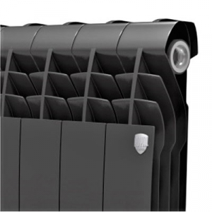 Биметаллический радиатор Royal Thermo BiLiner 500/Noir Sable (4 секции)