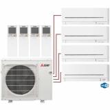 Мульти сплит система на 4 комнаты Mitsubishi Electric MSZ-AP20VGх3+MSZ-AP35VGK/MXZ-4E83VA