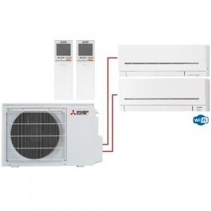 Мульти сплит система Mitsubishi Electric MSZ-AP20VG+MSZ-AP35VGK/MXZ-2D53VA