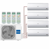 Мульти сплит система Haier AS07BS4HRAх3+AS18BS4HRA/ 4U26HS1ERA