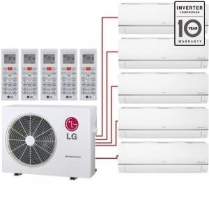 Мульти сплит система LG MJ05PCх4+MJ12PC/MU5R30