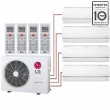 Мульти сплит система на 4 комнаты LG MJ05PCх3+MJ09PC/MU4R25