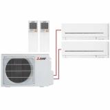 Мульти сплит система на 2 комнаты Mitsubishi Electric MSZ-AP15VGх2/MXZ-2D33VA