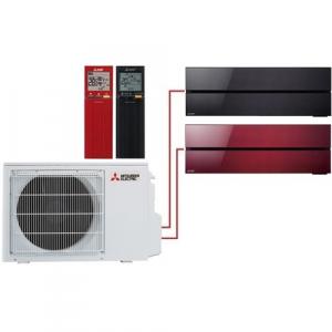 Мульти сплит система Mitsubishi Electric MSZ-LN25VGB+MSZ-LN35VGR/ MXZ-2D53VA