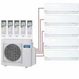 Мульти сплит система на 5 комнат Panasonic 3хCS-E7RKDW+2хCS-E12RKDW/CU-5E34PBD