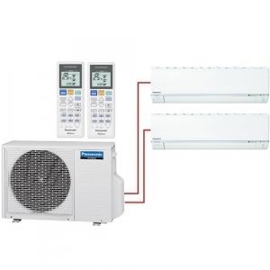 Мульти сплит система Panasonic CS-E7RKDW+CS-E12RKDW/ CU-2E18PBD