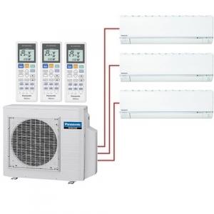 Мульти сплит система Panasonic CS-E7RKDWx2+CS-E15RKDW/ U-4E23JBE